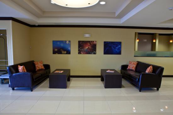 Dimondale, ميتشجان: Hotel Lobby