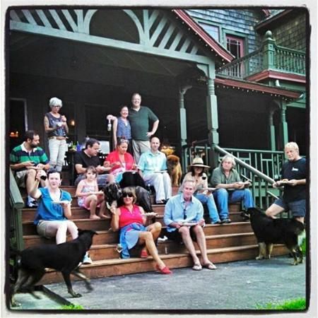 Fleischmanns, estado de Nueva York: Porch Picnic