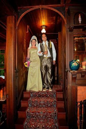 Fleischmanns, estado de Nueva York: The Bride and Groom