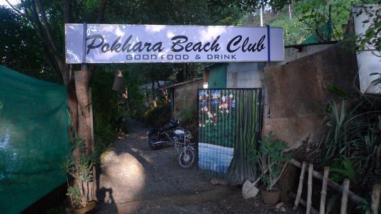 Burger Bar: Pokhara Beach Club