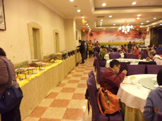 Lingbao, Chine : 早餐