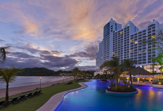 The Westin Playa Bonita Panama: Westin Sunset View Fom The Pool AR