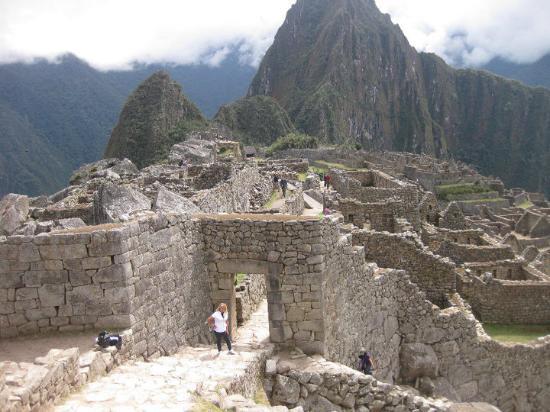 La puerta del sol picture of intipuncu machu picchu for La puerta del sol