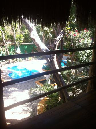 Koox City Garden Hotel: Vista da piscina