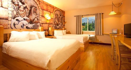 Mt Olympus Resort Hotel Rome 2 Queen Beds