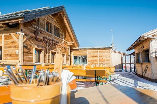 Corones Hütte: Außenansicht