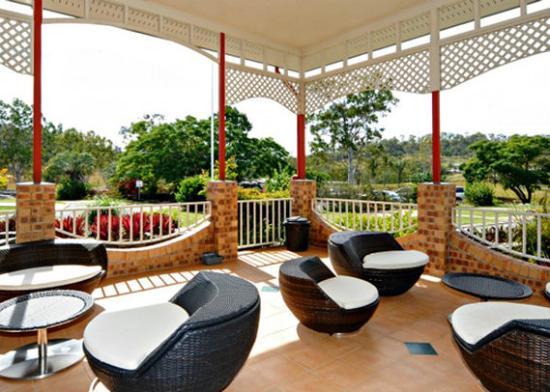 Calliope, Australia: patio