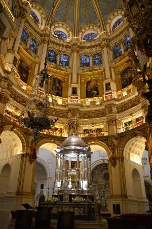 Main altar - Picture of Granada Cathedral, Granada ...