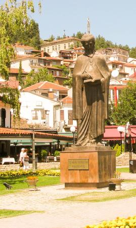 Monument to St. Naum of Ohrid