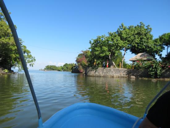 Granada, Nicaragua: Touring the islets.