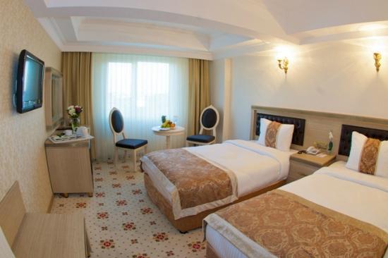 Marmaray Otel: Twin oda