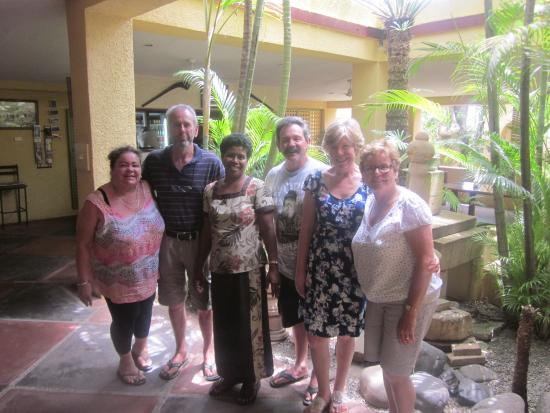 Natadola Beach Resort: We loved the dining area