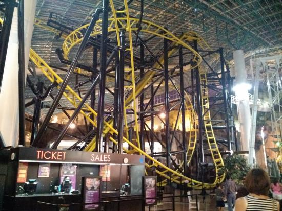 Indoor Roller Coaster Picture Of Circus Circus Hotel