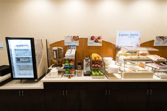 Holiday Inn Express Aiken SC Hotel Breakfast Bar