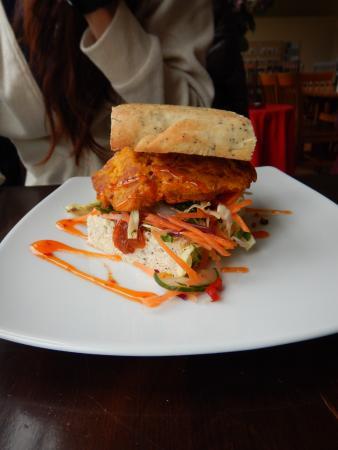 Tokanui, New Zealand: Vege Burger