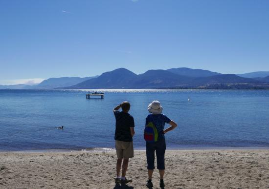 Benchmark B & B: Beach at Naramata