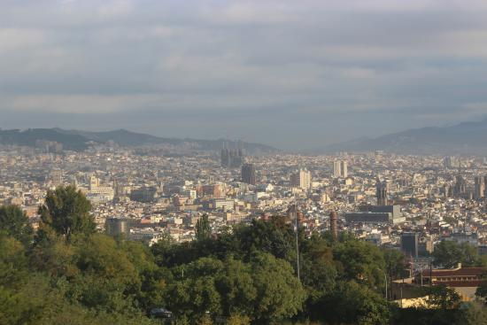 Pepito Tours. Private Day Tours of Barcelona: View from Montjuic