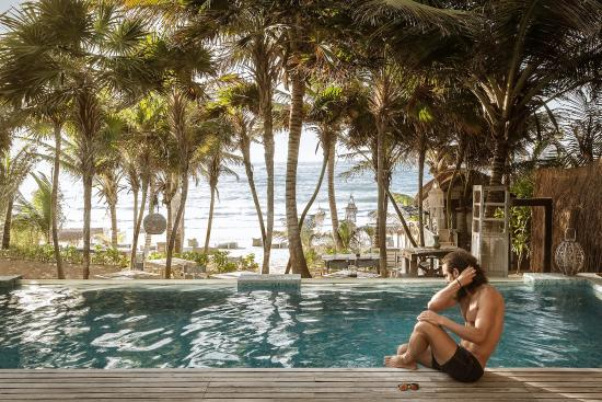 Be Tulum Hotel : The pool.
