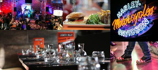 Rochefort du Gard, Frankrike: Restaurant Bar Concert live du grand Avignon