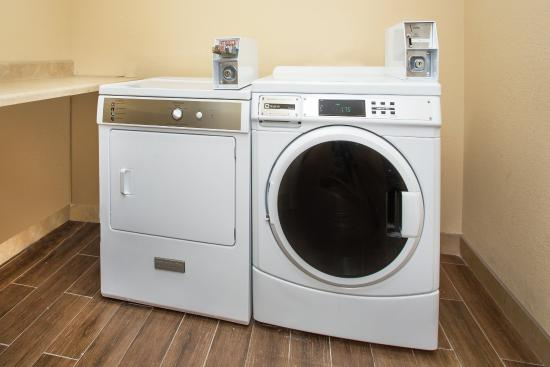 Nicholasville, KY: Coin-operated Guest Laundry on Second Floor