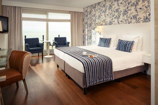 Hotel de Blanke Top: Deluxe kamer met zeezicht