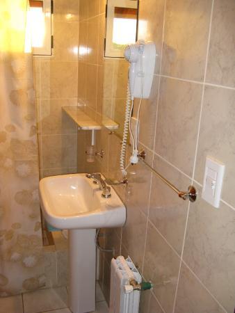 Hosteria Alto Verde: Baños privados