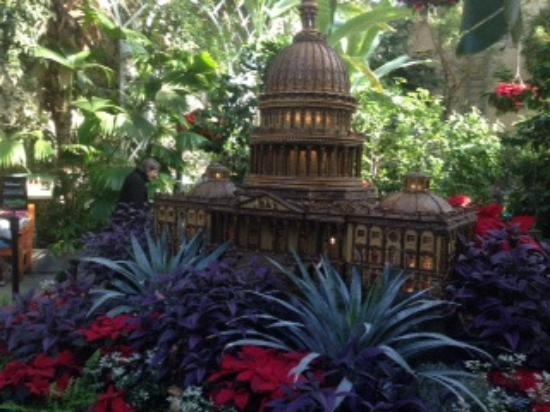 White House Made Of Plant Materials Picture Of United States Botanic Garden Washington Dc