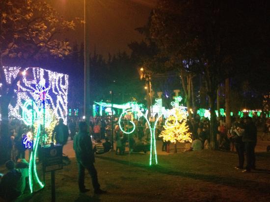 Colombia: Iluminación de Navidad