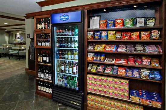 โรงแรมแฮมป์ตันอินน์ ปริ๊นซ์ตัน: Snack Shop