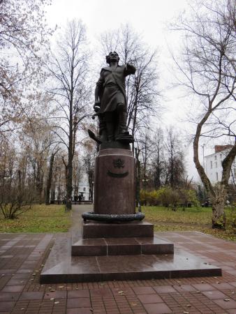 Petr I Monument