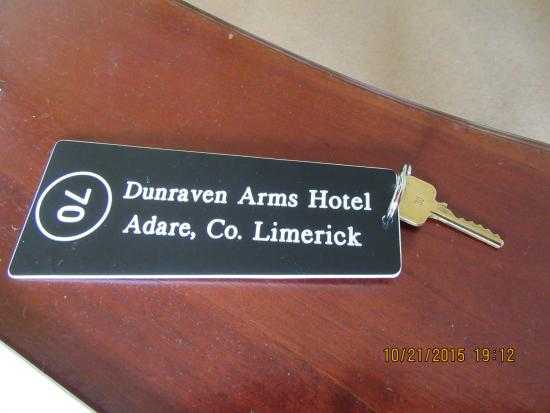Dunraven Arms Hotel: key