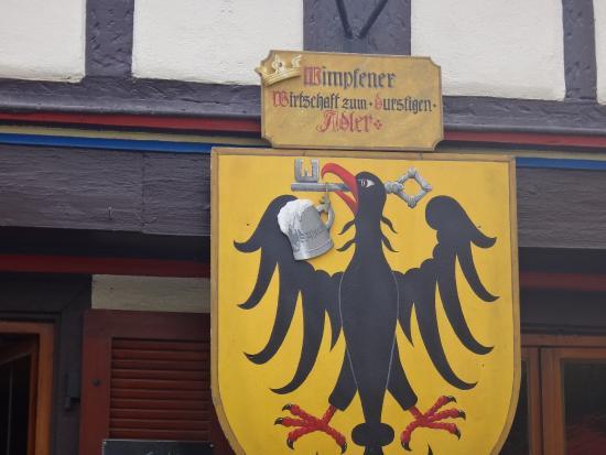 Bad Wimpfen, Germania: Эмблема над входом
