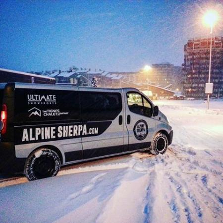 Alpine Sherpa: First snow of the winter