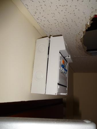 new ocean s hotel open fuse box near water leak picture of new oceans hotel water in fuse box house at virtualis.co