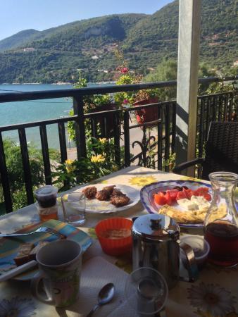 Pansion Limni: Breakfast