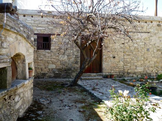 Pano Panayia, Cyprus: Exterior of Archbishop Makarios's humble birthplace