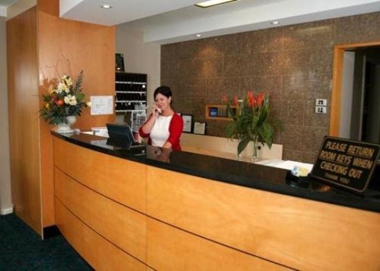Comfort Inn Blue Lagoon: Lobby