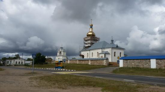 Novy Svierzan, Belarus: Церковь Успения в Новом Свержене