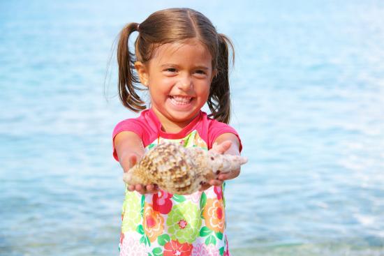 Benner, เซนต์ โทมัส: Fun finding shells