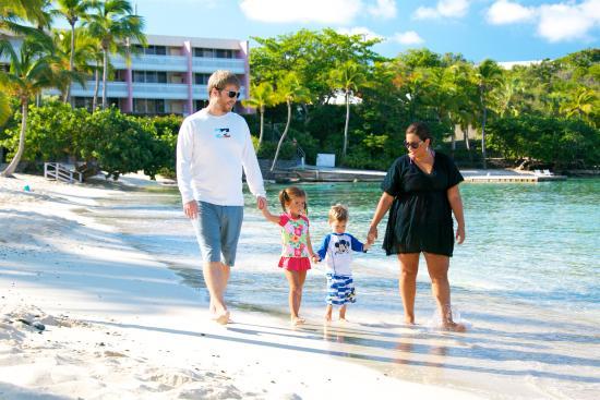 Benner, St. Thomas: Family Beach time