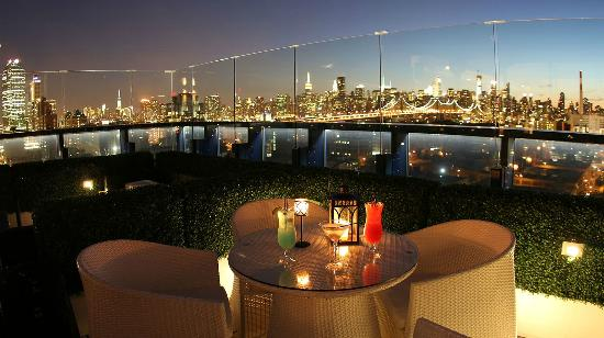 Long Island City, NY: Vista Sky Lounge