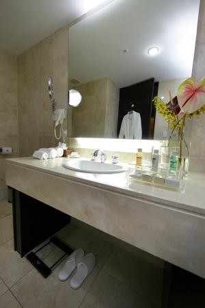 Wyndham Garden Panama City: Bathroom