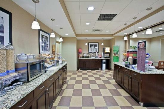 Brockport, Нью-Йорк: Breakfast Area