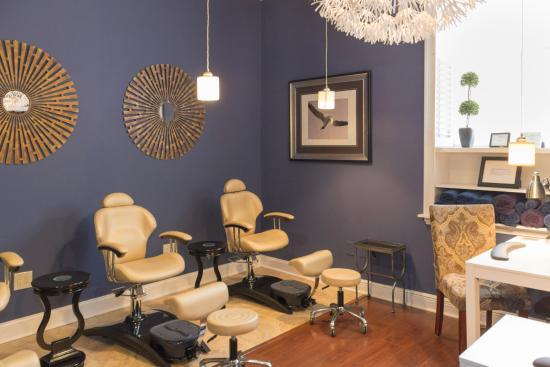 Spa Bleu : Nail Room