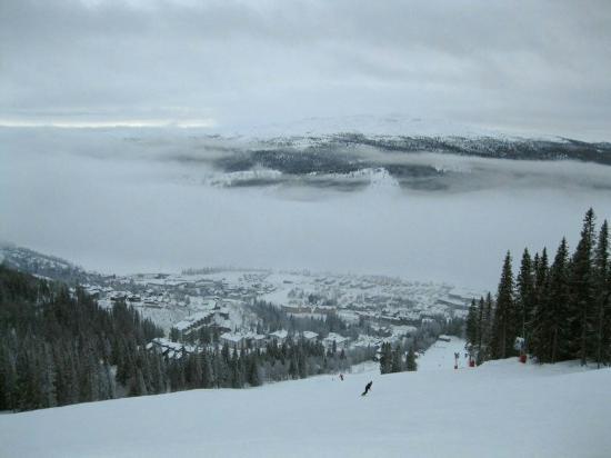Brunkulla Apartments : Шикарно отдохнули и погоняли на лыжах