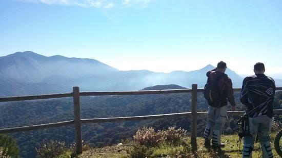Cortes de la Frontera, Spanje: mountain view