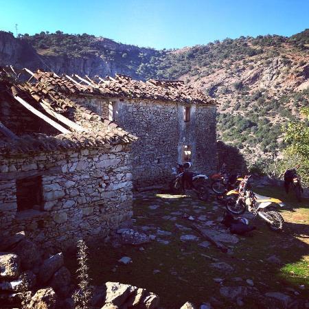 Cortes de la Frontera, Spanje: pit stop