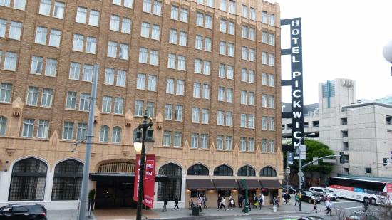 picture of the pickwick hotel san francisco. Black Bedroom Furniture Sets. Home Design Ideas