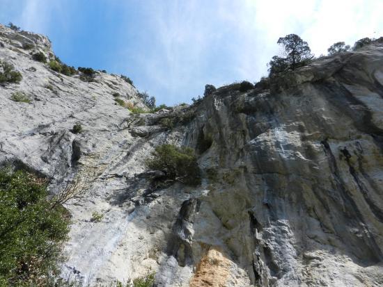 Gorges de Galamus: Дорога