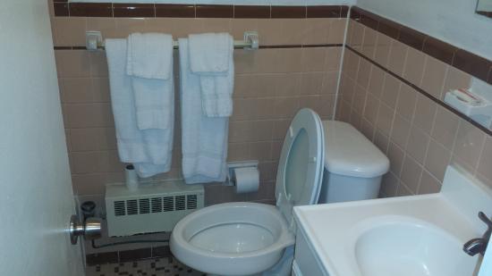 Travelodge Alexandria: Bathroom
